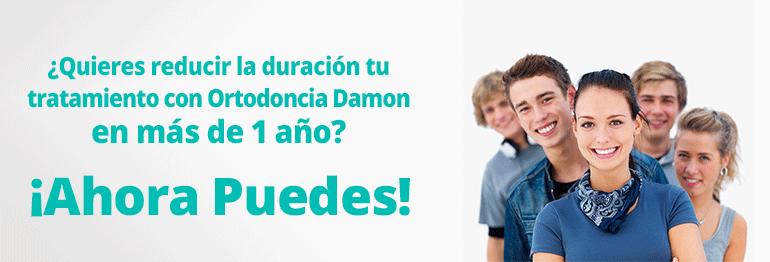 Consigue un tratamiento con el método ortodoncia Damon con Brackets ¡Con todo incluido y 15 meses de financiación gratuita!