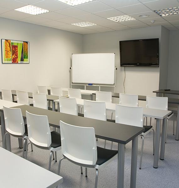 Sala de formación - Clínica Ortodóncica Alcobendas