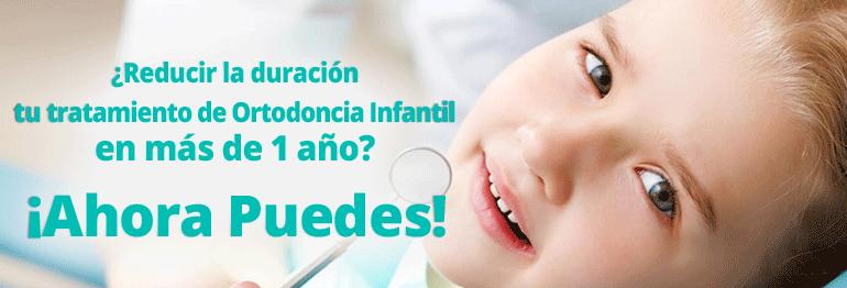 Consigue un tratamiento de Ortodoncia infantil ¡Con todo incluido y 15 meses de financiación gratuita!