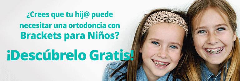 Consigue un tratamiento con brackets para niños de 12 años o mayores ¡Con todo incluido y 15 meses de financiación gratuita!