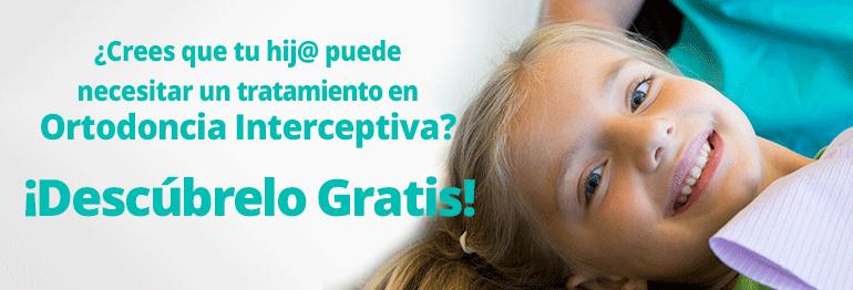 Consigue un tratamiento de Ortodoncia interceptiva en niños de 7 a 11 años ¡Con todo incluido y 15 meses de financiación gratuita!