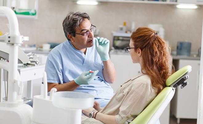 Qué es el contorneado dental