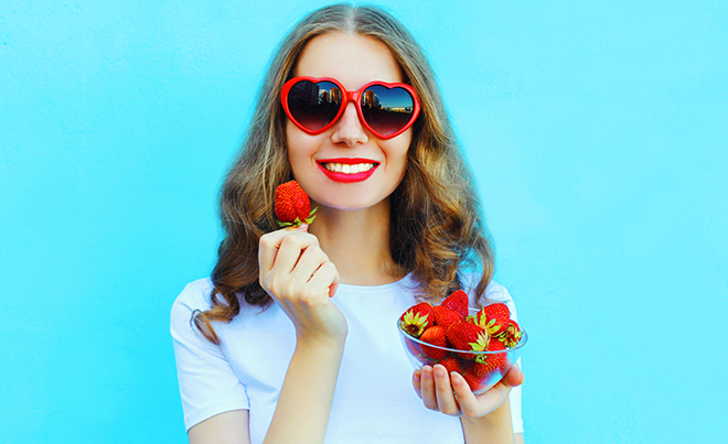 5 alimentos de primavera para cuidar tu salud dental